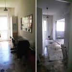 Ristrutturazione appartamento Milano Cucina a Vista 1
