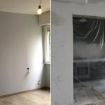 Ristrutturazione appartamento Milano Cucina a vista  2