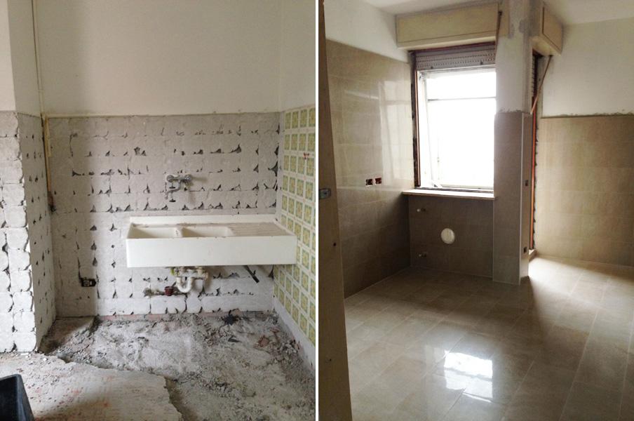 Ristrutturazione appartamento milano edil arredo milano - Ristrutturazione cucina milano ...