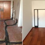 Ristrutturazione appartamento Milano Ingresso