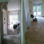 Ristrutturazione appartamento Milano Lamatura parquet 2