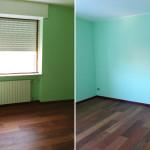 Ristrutturazione appartamento Milano camera letto 3