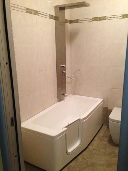 Sostituzione doccia con vasca edil arredo milano - Sostituzione vasca in doccia ...